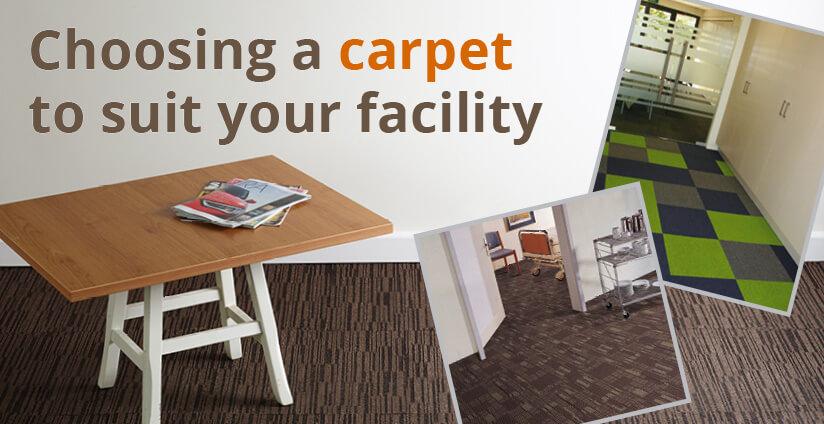 choosing a carpet to suit your facility pro tilepro tile